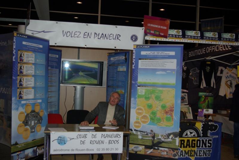 stand du club de planeur de Rouen Boos à la foire exposition de Rouen