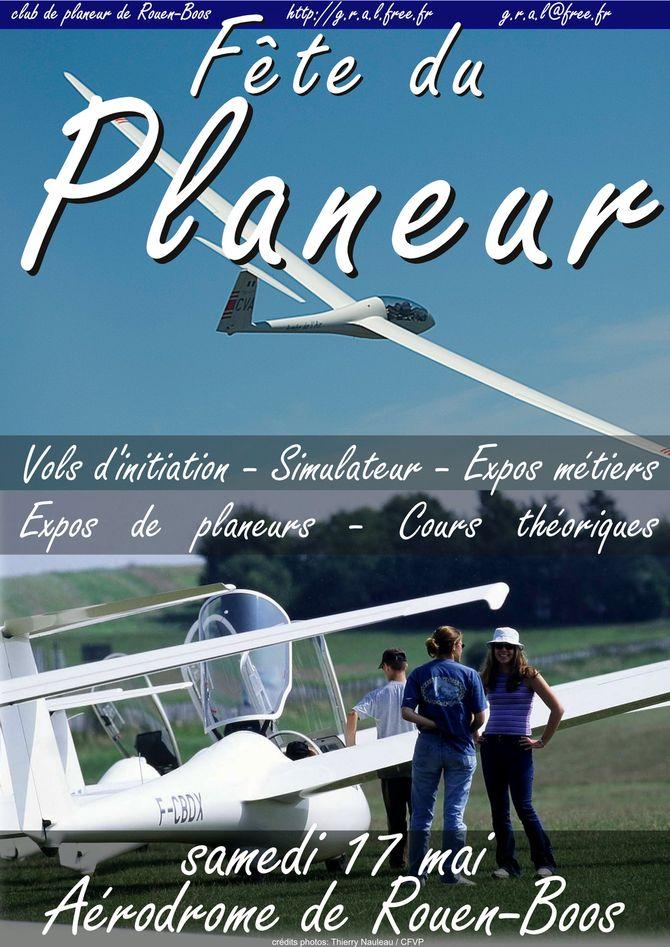 Affiche fête du planeur 2014